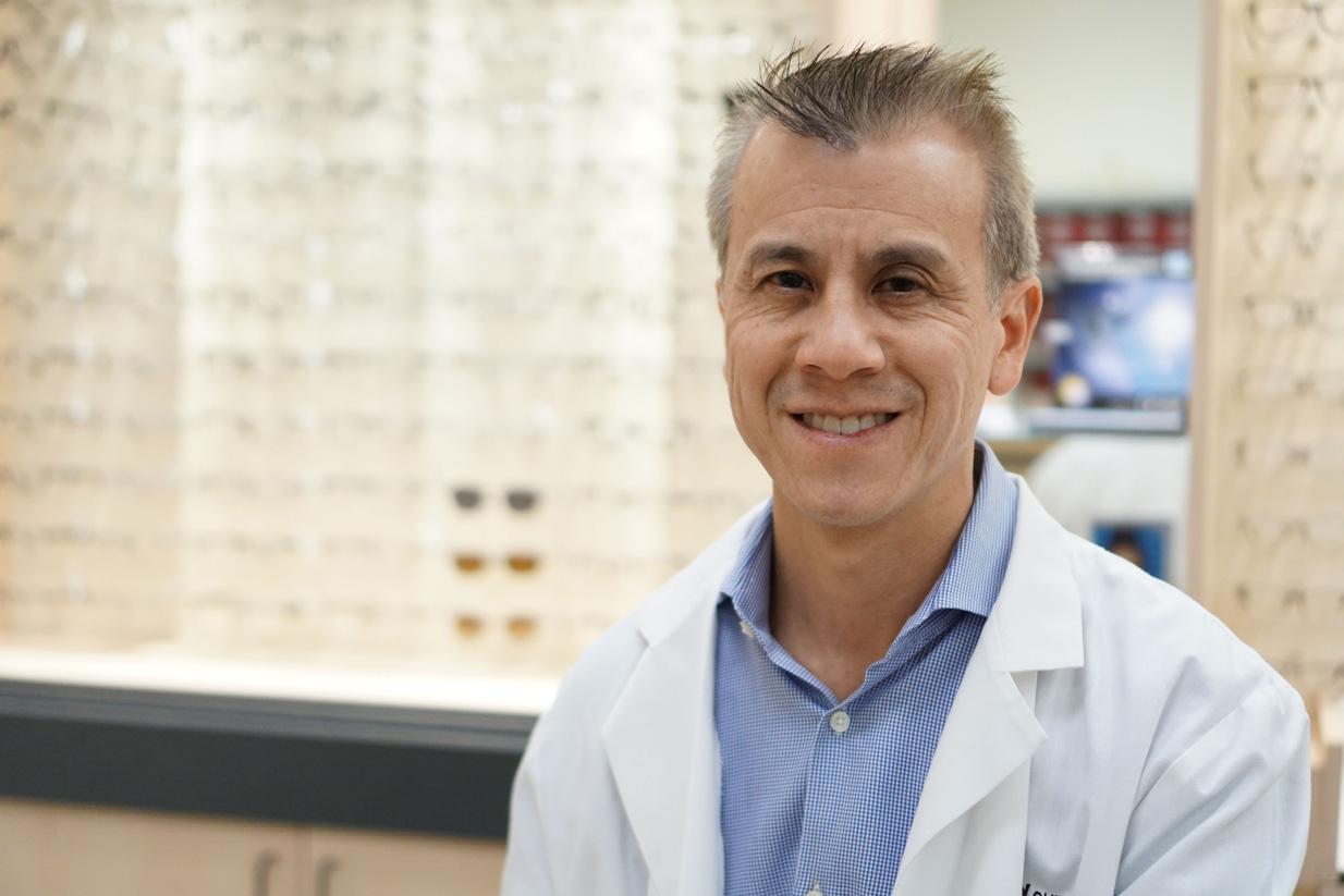 Chris Young, Optometrist